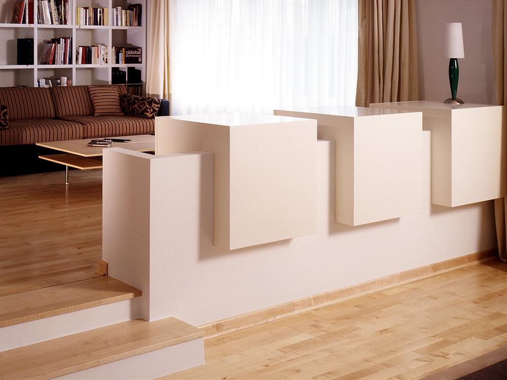 Raumteiler schreinerei buchal krings for Sideboard raumteiler