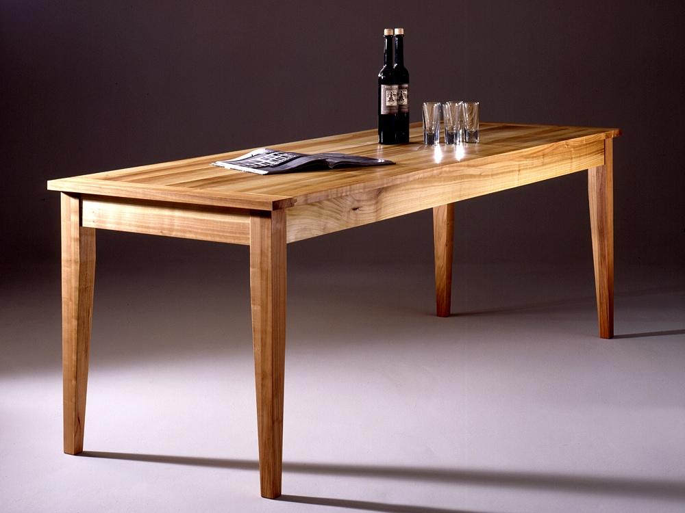 tisch aus massiven kirschbaumholz schreinerei buchal krings. Black Bedroom Furniture Sets. Home Design Ideas