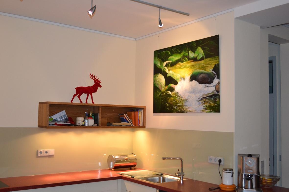 Küche Mit Corian Arbeitsplatte | Schreinerei Buchal Krings